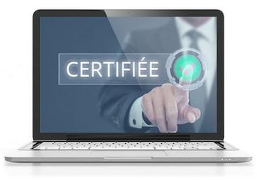 entreprise informatique certifiée