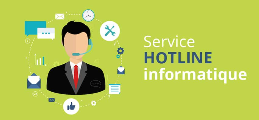 Hotline informatique pour entreprise
